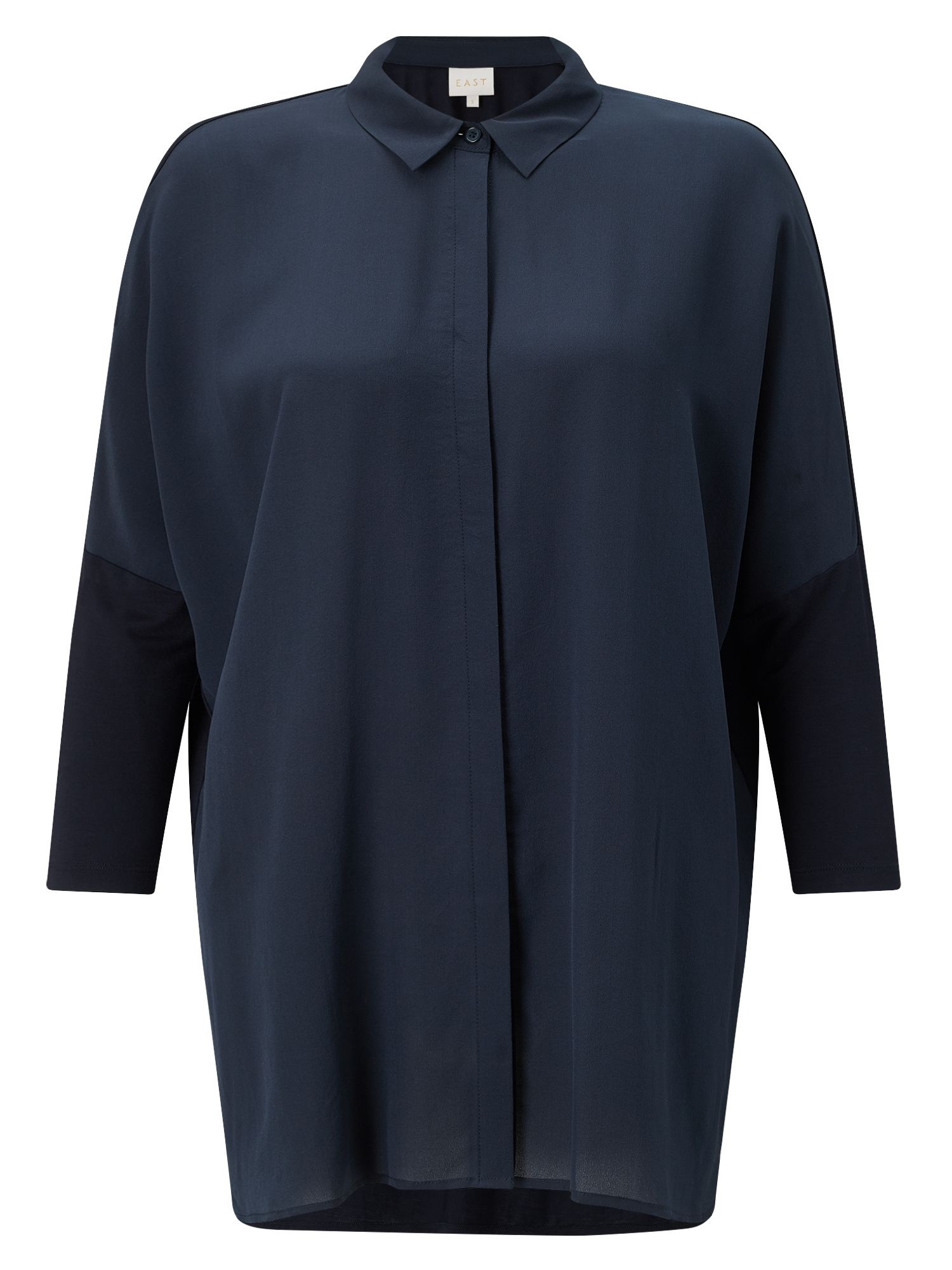 East Jersey Combination Shirt, Blue