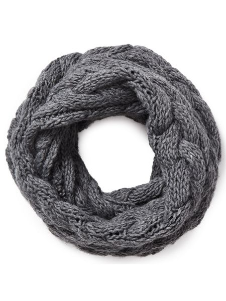 East Chunky Knitted Snood