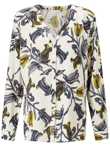 East Tulip Print Shirt