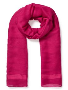 East Wool Silk Scarf