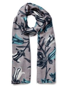 East Tulip Floral Scarf