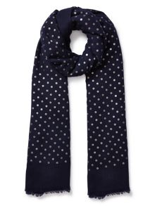East Wool Spotted Scarf