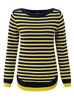 Stripe Cable Detail Jumper