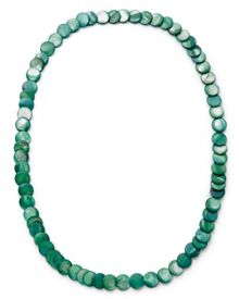 East Disc Link Long Necklace