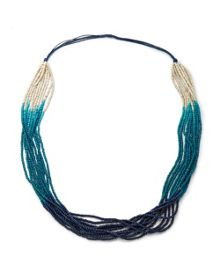 East Ombre Seed Bead Necklace