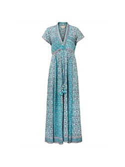 Anokhi Yasmin Print Maxi Dress