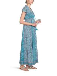 East Anokhi Yasmin Print Maxi Dress