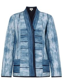 East Shibori Print Quilted Jacket