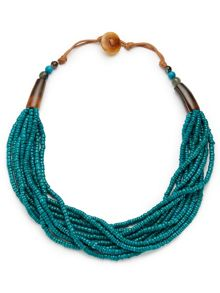 East Seed Bead Necklace