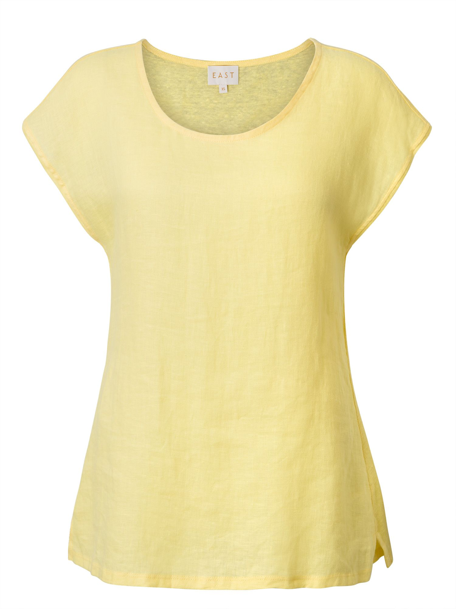 East Combination Jersey Tee, Yellow