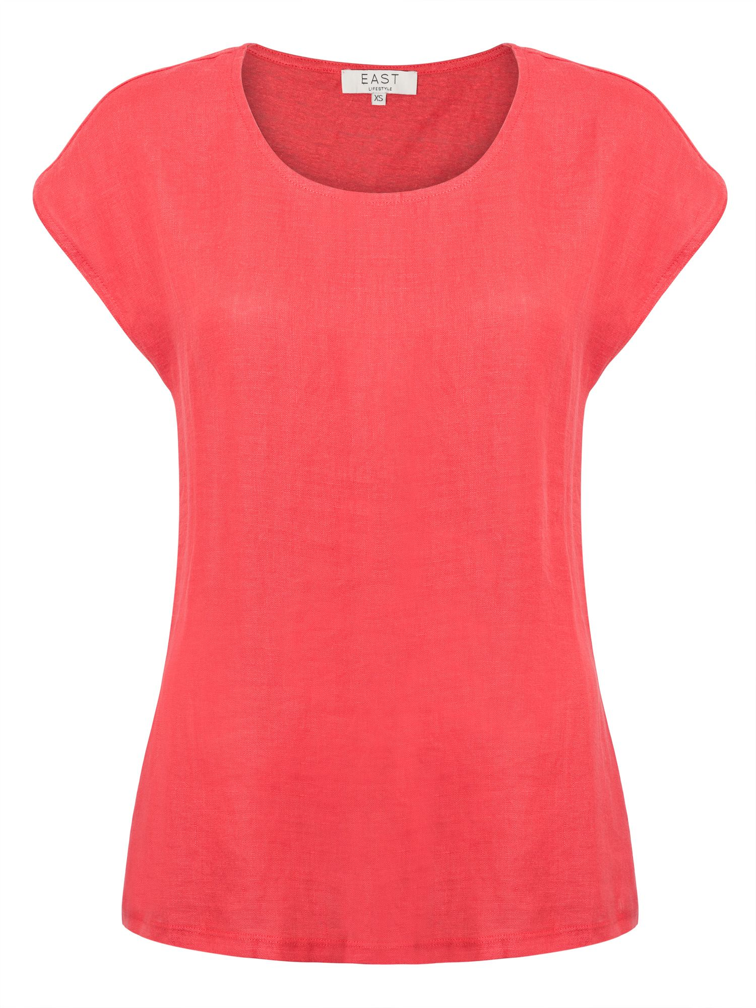 East Combination Jersey Tee, Red