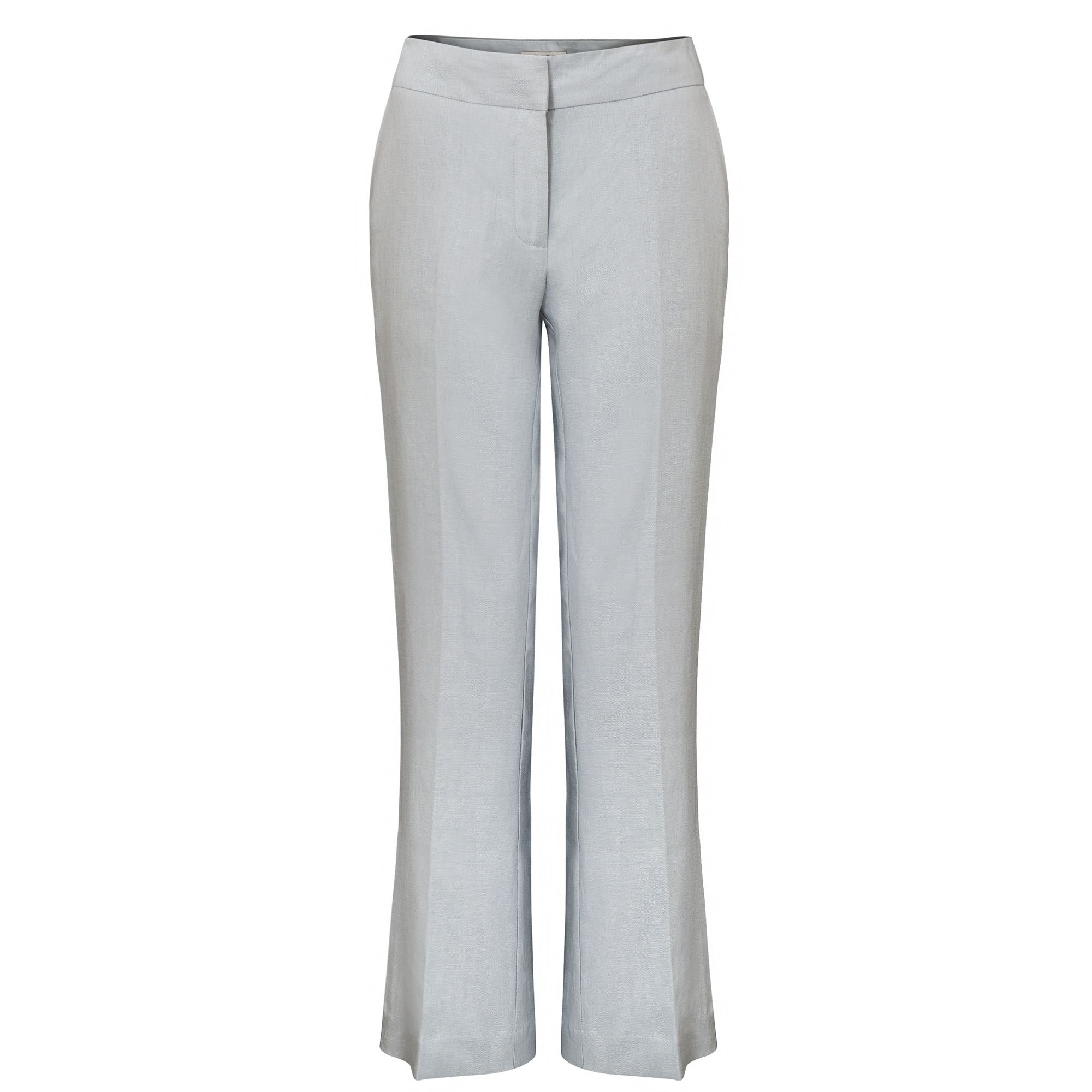 East Linen Victoire Trouser, Grey