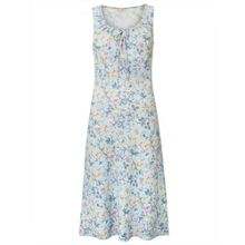 East Linen Lavina Print Dress