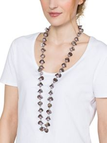 East Long Pearl Necklace