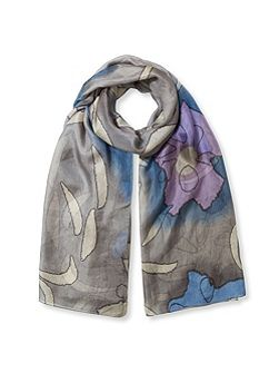 Silk Watercolour Scarf
