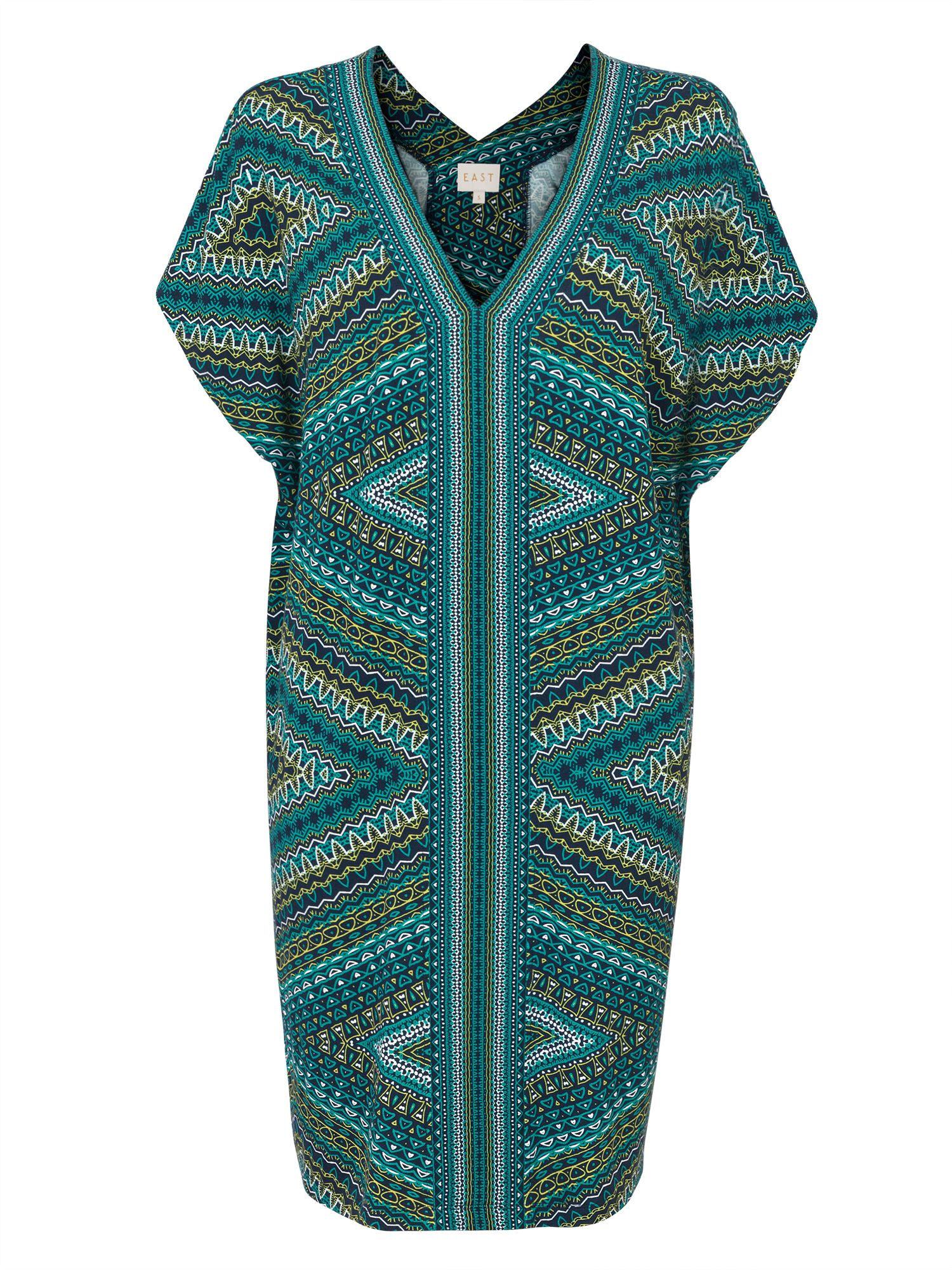 East Savannah Tunic Dress, Multi-Coloured
