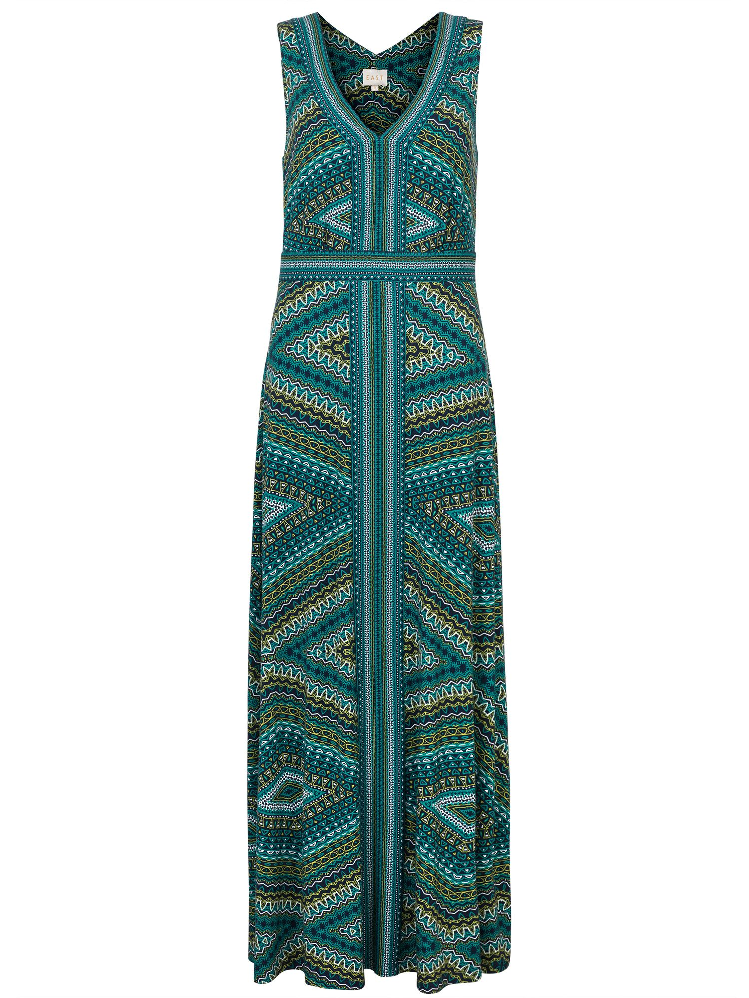 East Savannah Print Maxi Dress, Blue