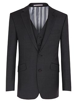 Charcoal Small Effect Jacket