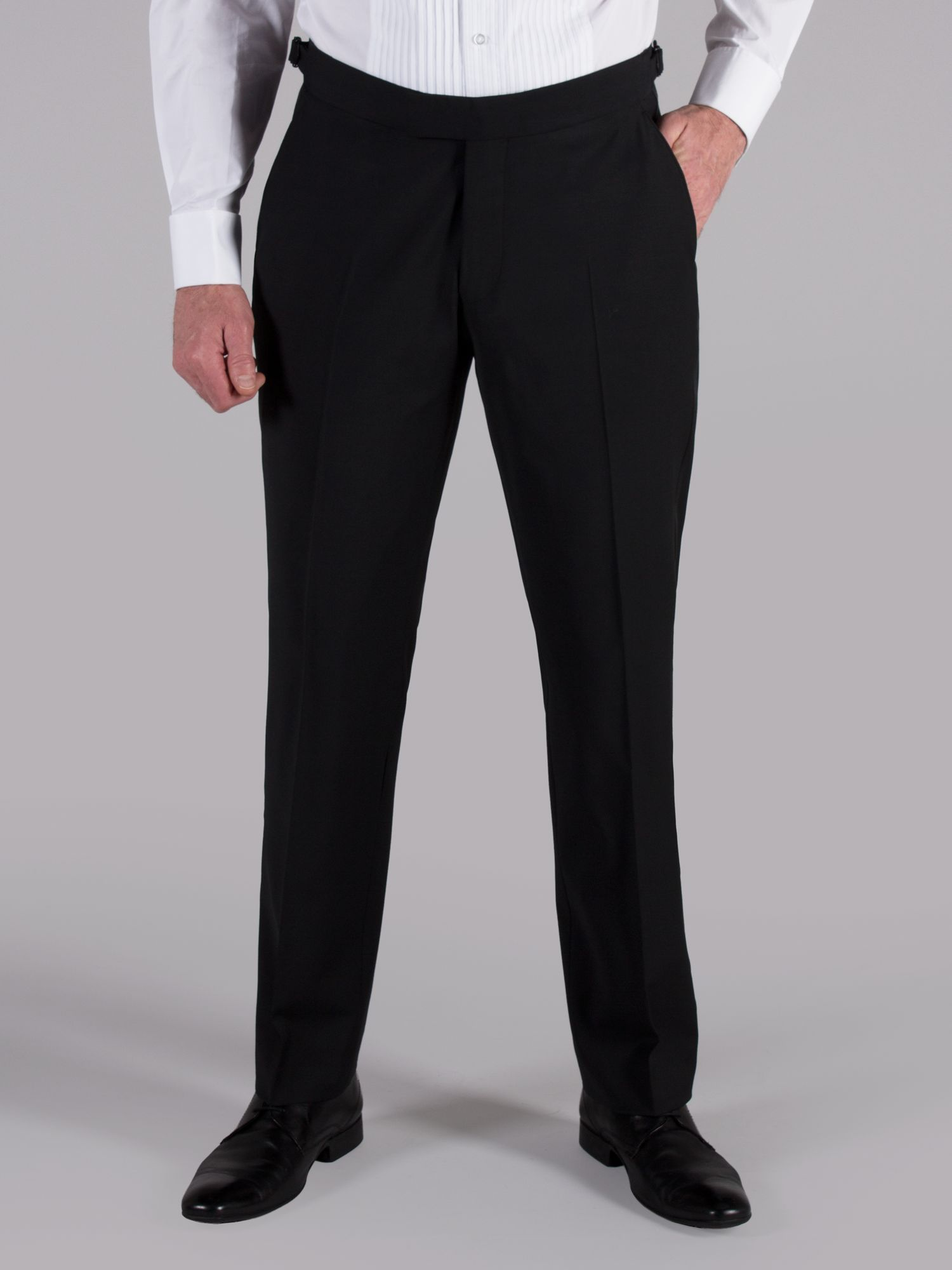 Black dresswear trousers