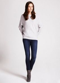 Cowl Neck Batwing Knit