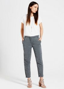 Mint Velvet Khaki Tapered Trouser