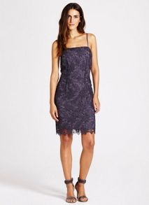 Smoke Cobweb Lace Dress