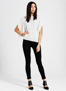 Mint Velvet Columbus Black Denim Legging