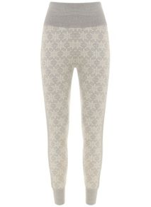 Mint Velvet Snowflake Knitted Legging