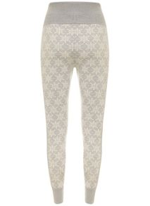 Snowflake Knitted Legging