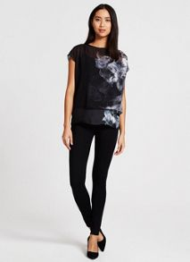 Mint Velvet Hayley Print Photographic Top