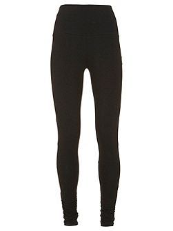 Black Ruched Legging