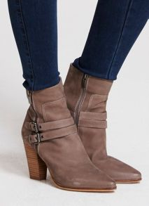 Taupe Roxie Boots