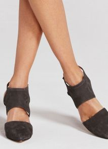 Mint Velvet Grey Lara Wedge