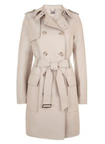 Mint Velvet Camel Trench Coat