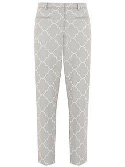 Faye Print Cotton Capri