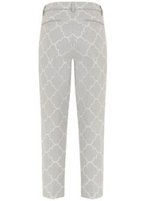 Mint Velvet Faye Print Cotton Capri