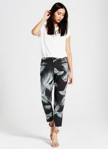 Kiya Print Cotton Capri