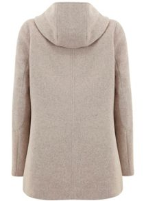 Mint Velvet Blush Zip Collar Coat