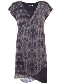 Mint Velvet Yasmine Print Wrap Dress