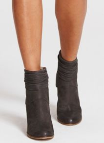 Mint Velvet Grey Eliza Ankle Boot