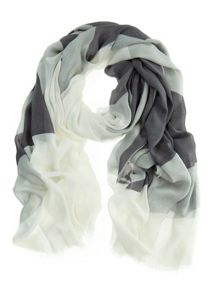 Mint Velvet Smoke Shell Scarf