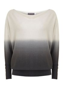 Ombre Batwing Knit