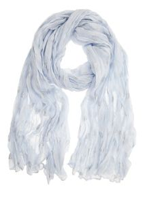Mint Velvet China Blue Shell Scarf