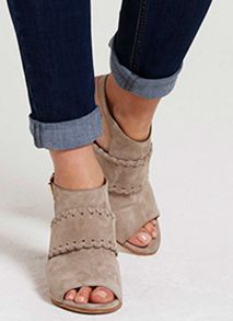 Mint Velvet Stone Quinn Shoe Boot