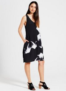 Mint Velvet Anjali Print Cocoon Dress