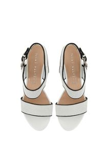 White Marcy Wedge