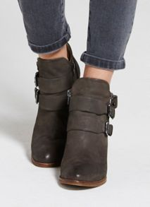 Mint Velvet Grey Peggy Ankle Boot