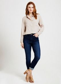 Mint Velvet Langley Dark Indigo High Waisted Skinny Jean