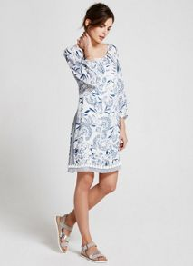 Mint Velvet Felicity Print Swing Dress