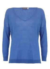 Azure V-Neck Knit
